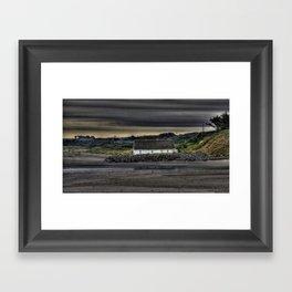 Cottage @ Laytown Beach Framed Art Print