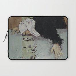 Woman in Black Laptop Sleeve