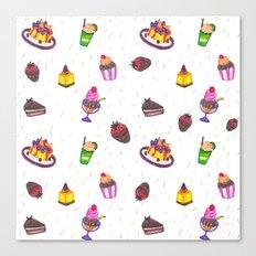 sugar power Canvas Print