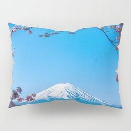 Mount Fuji in spring Pillow Sham