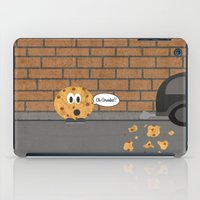 cookie iPad Cases featuring Cookie by Laugh Your Head Off