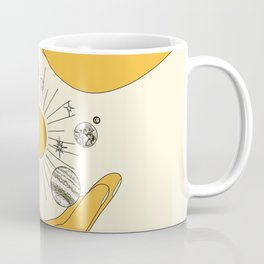 The Universe in Your Hands Coffee Mug