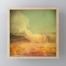 I dreamed a storm of colors Framed Mini Art Print
