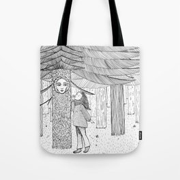 The Trees Will Keep My Secrets Tote Bag