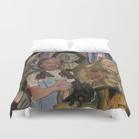 oz Duvet Covers featuring OZ  by Robert E. Richards