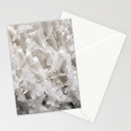 Botanical Gardens II - White Crystals #252 Stationery Cards