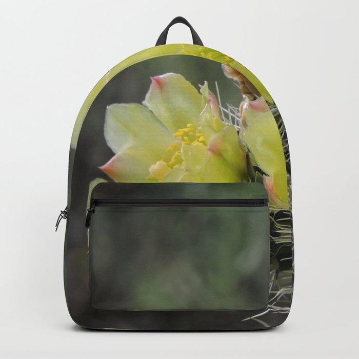 California Cactus Blooms Backpack