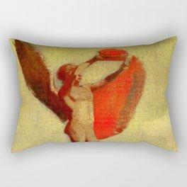 "Odilon Redon ""Icarus"" Rectangular Pillow"