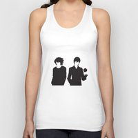 death note Tank Tops featuring Death Note by the minimalist