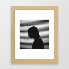 Window Thoughts Framed Art Print