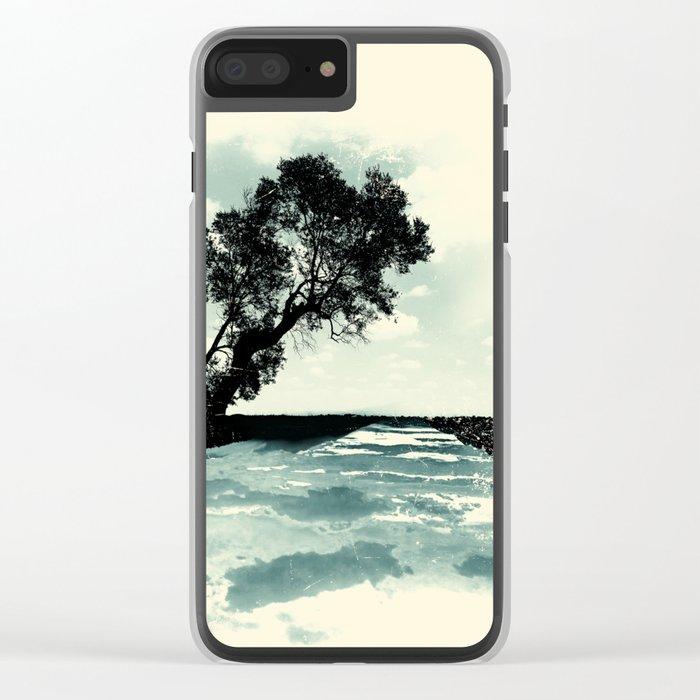 Sea of Clouds Clear iPhone Case
