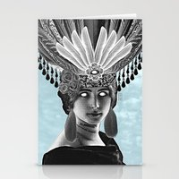 grace Stationery Cards featuring Grace by Thömas McMahon