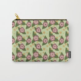Sweater Weather Flowers Carry-All Pouch