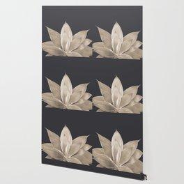 Sepia Agave #1 #tropical #decor #art #society6 Wallpaper