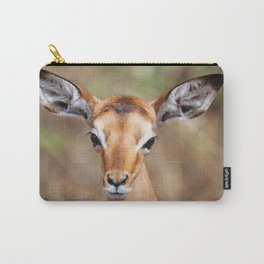 Cute litte Impala, Africa wildlife Carry-All Pouch