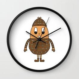 Peanut Egg Wall Clock