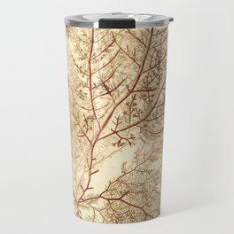 Warm Seaweed Pattern Travel Mug