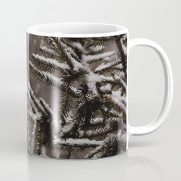 Snow Upon the Branches (Color) Coffee Mug
