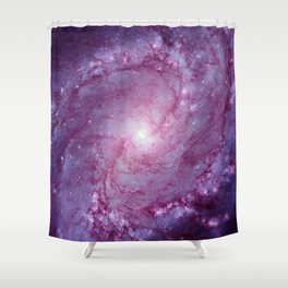 Spiral galaxy Shower Curtain