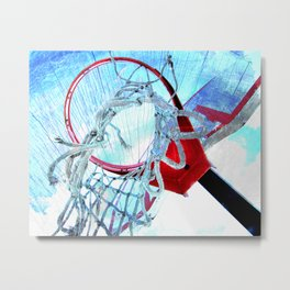 Modern basketball art 4 Metal Print