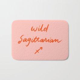 Crazy lovely Sagittarian Bath Mat