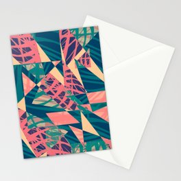 Jagged palms Stationery Cards