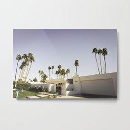 Houses of Palm Springs Metal Print