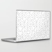 camo Laptop & iPad Skins featuring Geometric Camo by INDUR