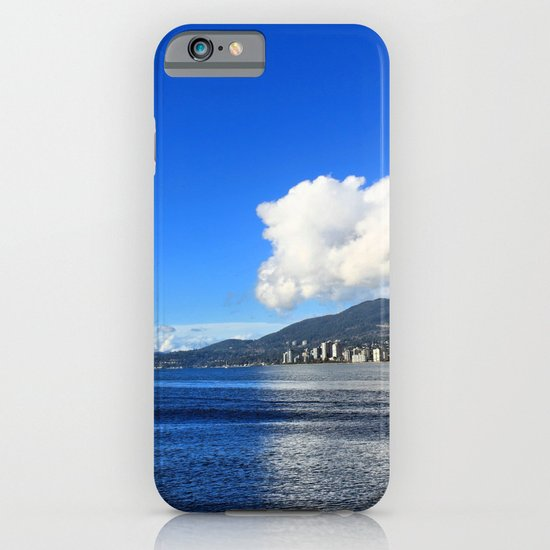 Blue vs. White iPhone & iPod Case