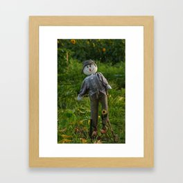 Be Happy in Your Work Framed Art Print