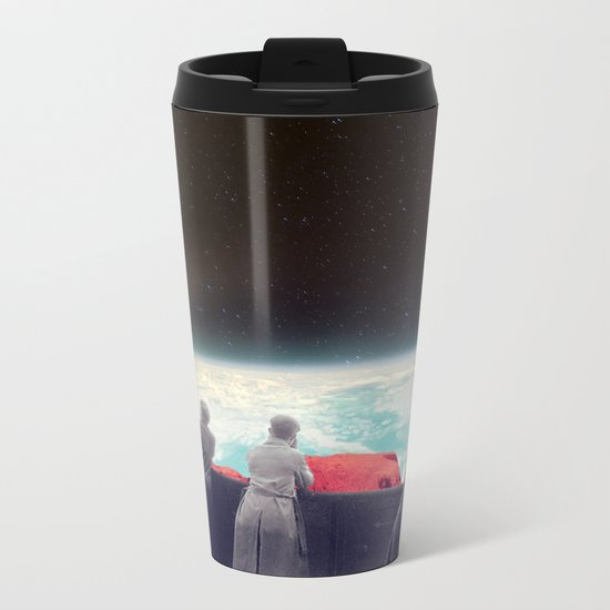 They Are Waiting For Us Metal Travel Mug