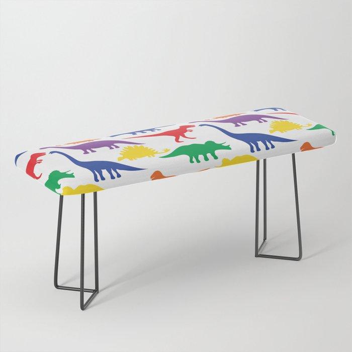 Dinosaurs - White Bench