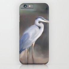 Blue Heron Paining  iPhone 6 Slim Case