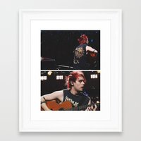 5 seconds of summer Framed Art Prints featuring 5 Seconds of Summer - Michael by Fan_Girl_Designs