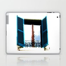 Window to the Present Laptop & iPad Skin