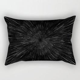 Planet Pixel Rush Rectangular Pillow
