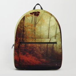That's not my way - misty woodland Backpack