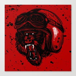 Baboon Mood Canvas Print