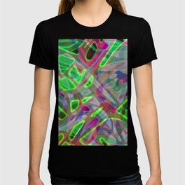 Colorful Abstract Stained Glass G300 T-shirt