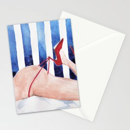 Red Shoes Stationery Cards