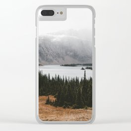 Outdoorsy Nature Wildnerness Photo Clear iPhone Case