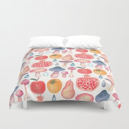 Fruits of the Woods Duvet Cover