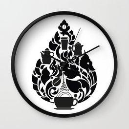 Khmer Coffee Wall Clock