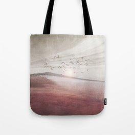 Positive sunset II Tote Bag