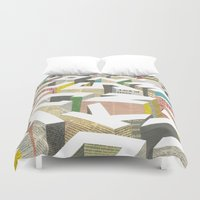 ilovedoodle Duvet Covers featuring The Capital by I Love Doodle