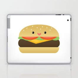 Happy Cheeseburger Laptop & iPad Skin