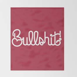 Bullshit! Throw Blanket