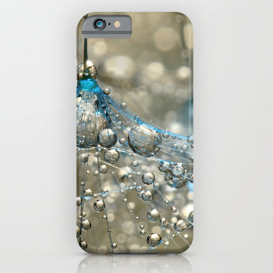 Cyan & Gold iPhone & iPod Case