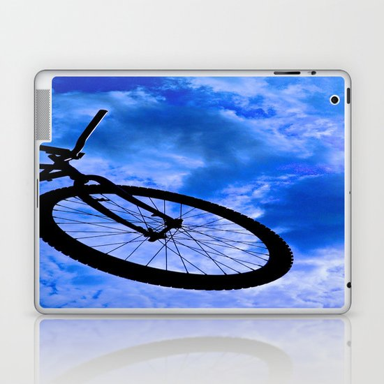 Sky Bike Laptop & iPad Skin