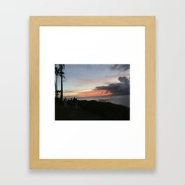 Hawai'ian Sunset No.1 Framed Art Print
